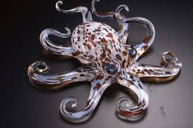 art glass octopus ring holder images Hopko soul glass handblown glass sculptures crystal fox gallery jpg