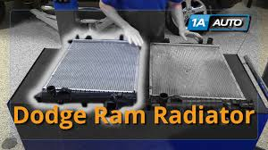 radiator for 2002 dodge ram 1500 how to install replace radiator 2004 08 dodge ram 5 7l buy quality