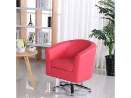 Designer Leather Armchair Leather Tub Chairs Designer Leather Swivel Tub Chair Armchair Pink