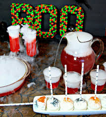 Halloween Themed Cake Pops by Halloween Party Recipes Dragon U0027s Blood Punch U0026 Sunkist Ten Cake