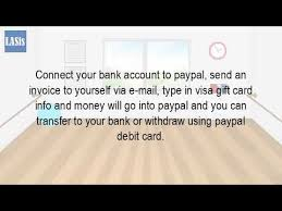 buy e gift cards with checking account can i transfer money from a gift card to my bank account