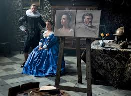 Alicia Vikander Robot Movie by Tulip Fever First Look Waltz U0026 Vikander Star In The Period Drama