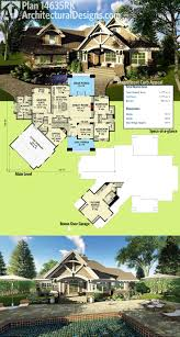 Architectural Designs House Plans by 267 Best Rugged And Rustic House Plans Images On Pinterest
