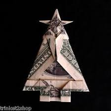 Origami Money Christmas Tree