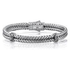 solid bracelet images Atolyestone mens braided bangles classic bangle solid silver jpg