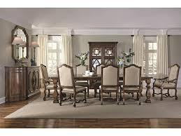 Bernhardt Dining Room Sets Bernhardt Montebella 9 Piece Dining Set With Upholstered Chairs