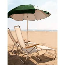 Chair Umbrellas With Clamp Frankford Umbrella Commercial Oak Wood Beach Chairs Hayneedle