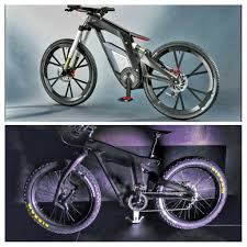 audi bicycle luna u0027s apex bike is pretty baller looking ebikes