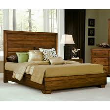Modern Wooden Beds Angelo Home Chelsea Park Solid Wood Low Profile Bed Hayneedle