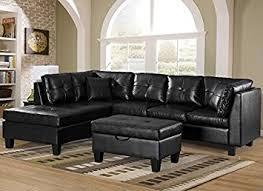 Sectional Sofa Chaise Lounge Merax Sofa 3 Sectional Sofa With Chaise Lounge