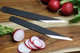 Carbon Steel Kitchen Knives Yoshihiro Aoko Super Blue High Carbon Steel Kiridashi Knife