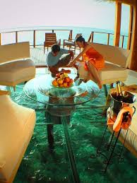 Glass Floor L Glass Floor Cottage Maldives Homey Pinterest