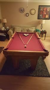 brunswick 7ft pool table 7ft brunswick billiards pool table set up available sports