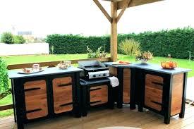 meuble cuisine exterieure bois cuisine d ete exterieure cuisine exterieure pas cher cuisine d