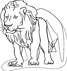 free printable lion coloring pages kids print