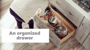 kitchen cabinet drawer peg organizer pegged drawer organizer