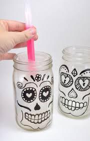glowing sugar skull jar lanterns dream a bigger