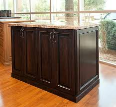 espresso kitchen island kitchen solutions closets