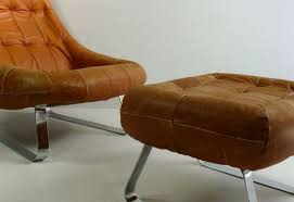 Ottoman With Chair Chair Modern Chair With Ottoman Favored Leather Lounge Chair And