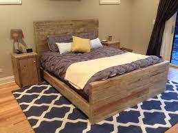best 25 reclaimed wood bed frame ideas on pinterest reclaimed