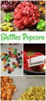 skittles popcorn recipe easy candied recipe idea