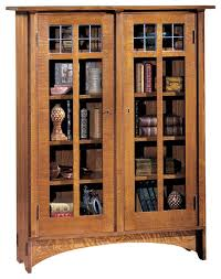 Oak Bookcases For Sale Craftsman Bookcases With Doors Styles Yvotube Com