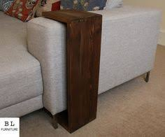 Sofa Arm Table by 15 Easy Diy Tables That You Can Actually Build Yourself Diy Sofa