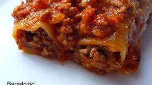 cuisine italienne cannelloni cannelloni bolognaise recette par baradozic