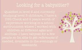 looking for a babysitter ad edouardpagnier co