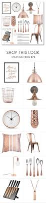 copper decor accents copper accent by lisajean1957 liked on polyvore featuring