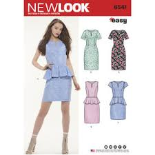 dress pattern brands new look sewing patterns simplicity
