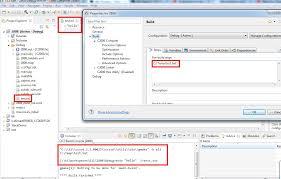 how to assign a variable prebuild code composer forum code