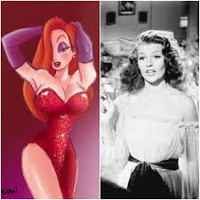 jessica rabbit real life 10 real life inspirations for famous cartoon characters