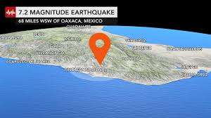 Italy Earthquake Map Mexico 13 Dead After Helicopter Surveying Damage Of Magnitude 7 2