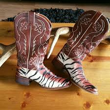 womens zebra boots 78 nocona shoes sassy stingray nocona zebra striped cowboy