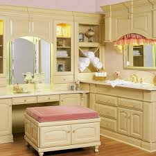 Mirrored Makeup Vanity Table Bathroom Vanity With Dressing Table Vanity Table Set Double Sink