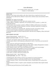 Front Desk Receptionist Resume Sample by Example Of Hotel Receptionist Cv
