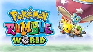 pokémon rumble world pokémon rumble world