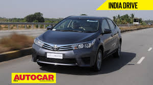 toyota website india new toyota corolla altis video review autocar india