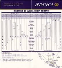 Flybe Route Map by The Timetablist Aviateca Timetable And Route Map June 1993