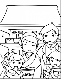 impressive japanese holiday coloring pages japanese coloring