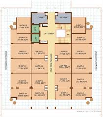 commercial complex floor plan ansals shivam raj nagar ghaziabad propertywala com