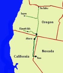 map of oregon nevada nevada california oregon railway