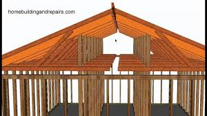 a frame roof design home design how to convert existing truss roof flat ceiling to