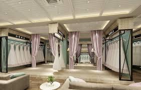 modern wedding dress shop interior 393 3d cgtrader