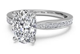 oval wedding rings oval cut engagement rings ritani