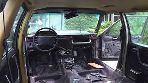 mercedes w124 wagon complete interior change youtube