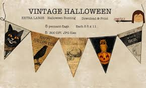 vintage halloween banners u2013 festival collections