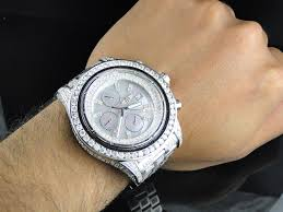 bentley breitling diamond mens xl breitling super avenger aeromarine 52 mm genuine diamond