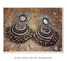 kanphool earrings what are the best accessories with traditional dresses like
